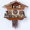 Original handmade Black Forest Cuckoo Clock  / Made in Germany 2-6296t