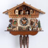 Original handmade Black Forest Cuckoo Clock  / Made in Germany 2-6768t