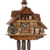 Original handmade Black Forest Cuckoo Clock  / Made in Germany 2-86206t