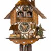 Original handmade Black Forest Cuckoo Clock  / Made in Germany 2-678t