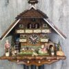 Original handmade Black Forest Cuckoo Clock  / Made in Germany 2-86742t