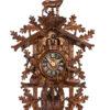 Original handmade Black Forest Cuckoo Clock  / Made in Germany 2-8682-8t
