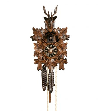 Cuckoo-Clock-from-black-forest-Germany-105