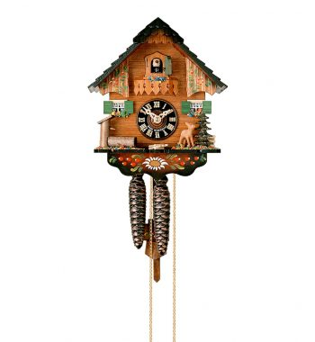 Cuckoo-Clock-from-black-forest-Germany-1240