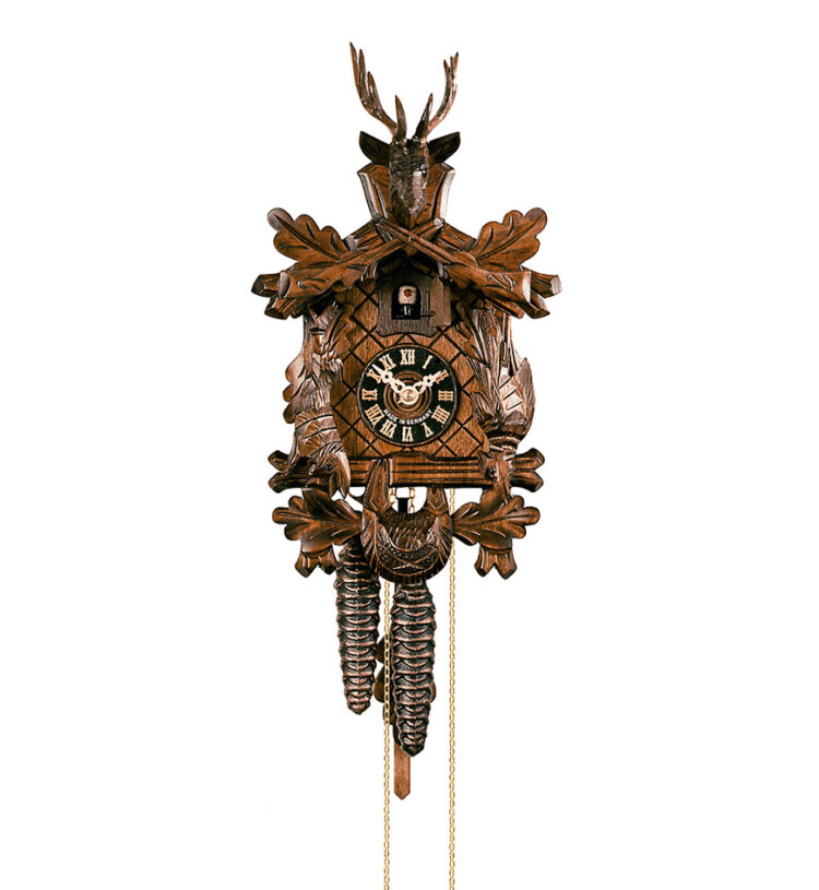 Cuckoo-Clock-from-black-forest-Germany-130