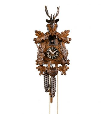 Cuckoo-Clock-from-black-forest-Germany-134