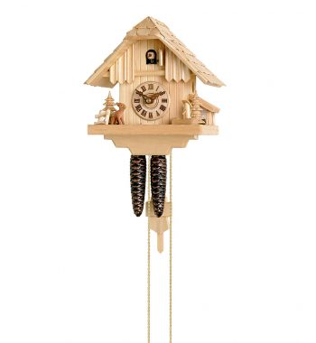 Cuckoo-Clock-from-black-forest-Germany-148