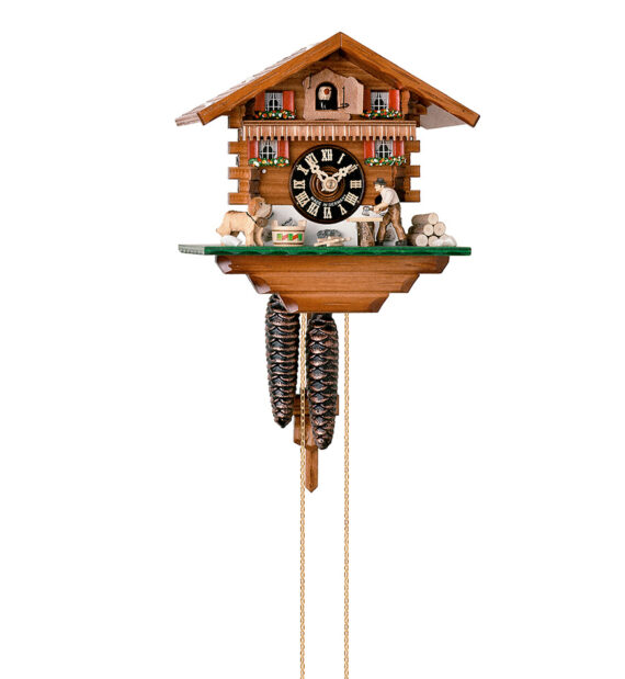 Cuckoo-Clock-from-black-forest-Germany-149
