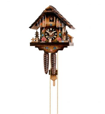 Cuckoo-Clock-from-black-forest-Germany-154