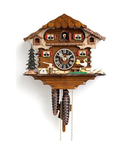 Cuckoo-Clock-from-black-forest-Germany-164