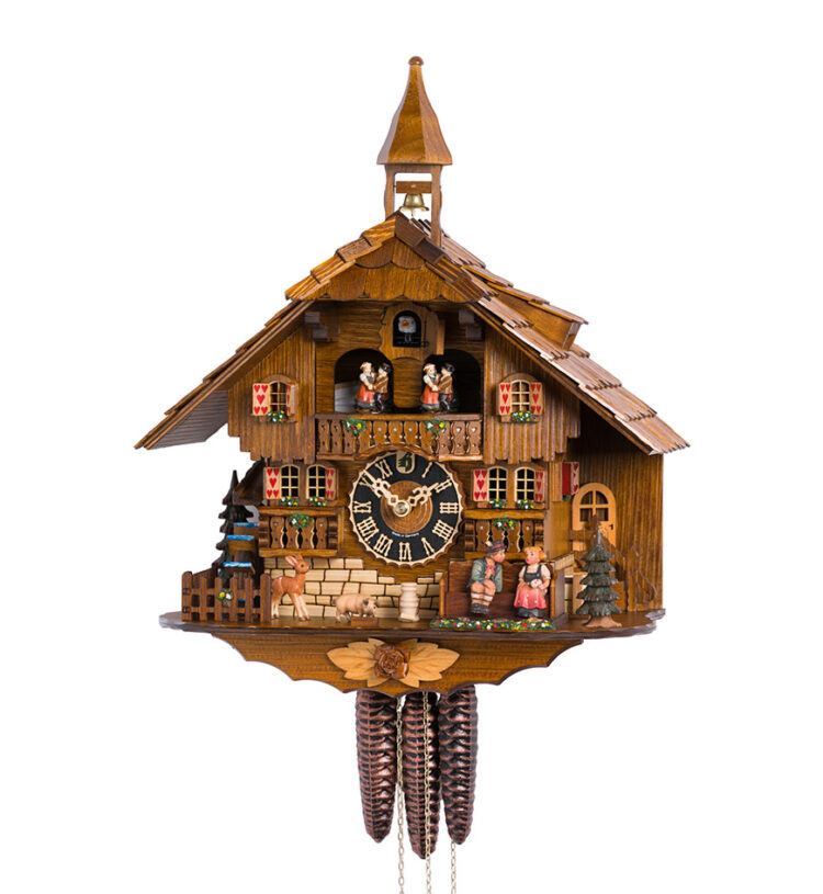 Cuckoo-Clock-from-black-forest-Germany-638T