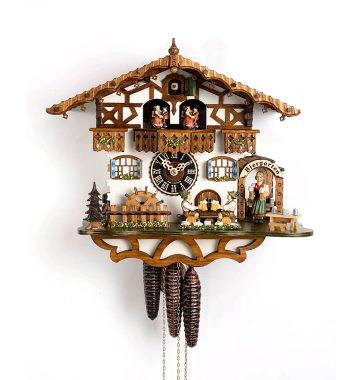 Cuckoo-Clock-from-black-forest-Germany-664T-Zenzi