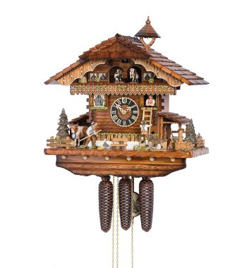 Cuckoo-Clock-from-black-forest-Germany-86210T-neu