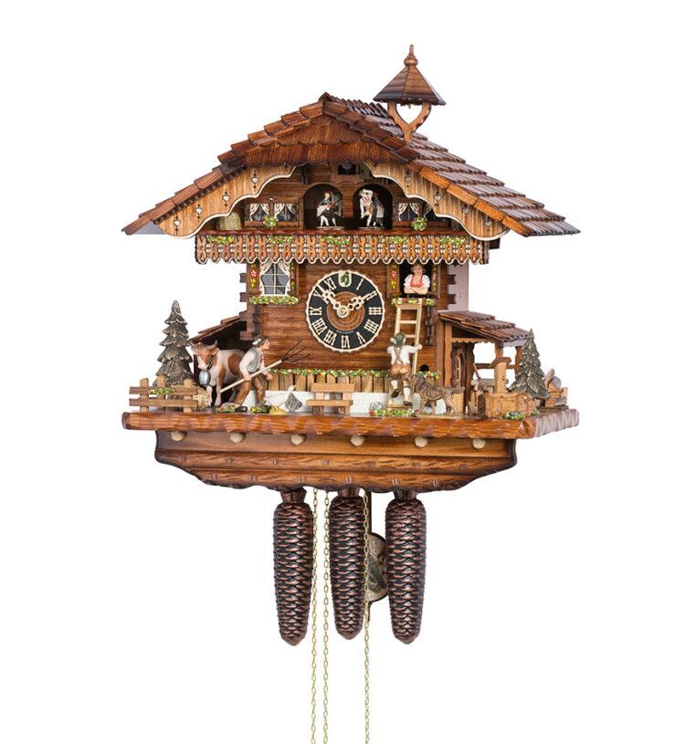 Cuckoo-Clock-from-black-forest-Germany-86210T-neu