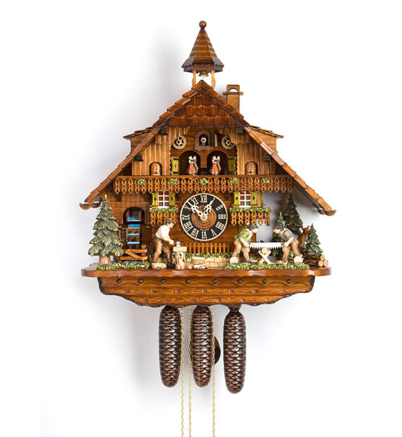 Cuckoo-Clock-from-black-forest-Germany-86275T