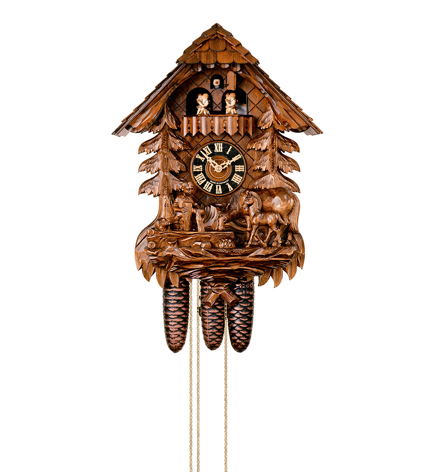 how to set a cuckoo clock