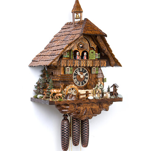 Cuckoo-Clock-from-black-forest-Germany-86740T
