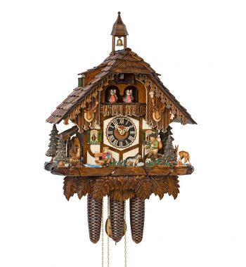 Cuckoo-Clock-from-black-forest-Germany-86752T