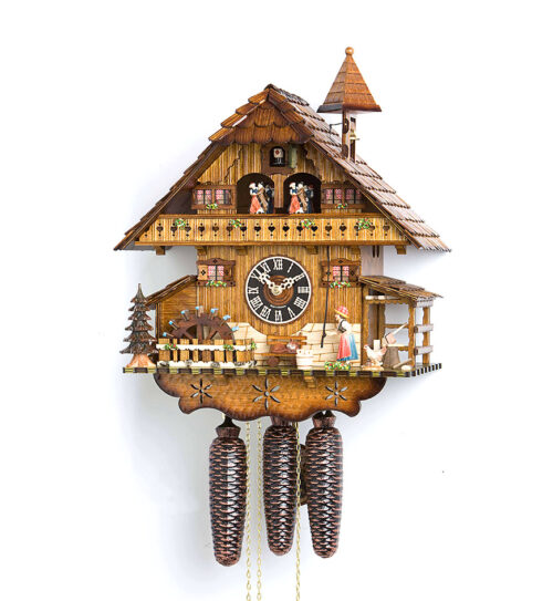 Cuckoo-Clock-from-black-forest-Germany-8677T