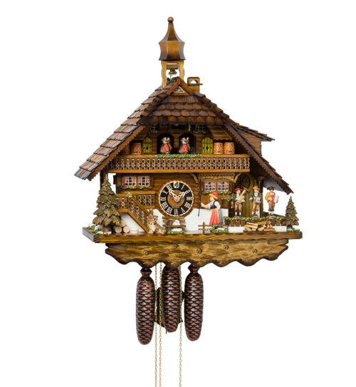 Cuckoo-Clock-from-black-forest-Germany-8680T