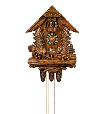 Cuckoo-Clock-from-black-forest-Germany-8691T