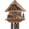 Original handmade Black Forest Cuckoo Clock  / Made in Germany 2-86258T