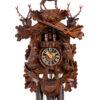 Original handmade Black Forest Cuckoo Clock  / Made in Germany 2-8637-5tnu