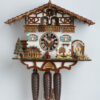 Original handmade Black Forest Cuckoo Clock  / Made in Germany 2-8664t Zenzi