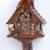 Original handmade Black Forest Cuckoo Clock  / Made in Germany 2-6209t