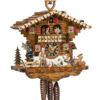 Original handmade Black Forest Cuckoo Clock  / Made in Germany 2-6214t