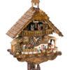 Original handmade Black Forest Cuckoo Clock  / Made in Germany 2-6216t