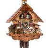 Original handmade Black Forest Cuckoo Clock  / Made in Germany 2-6233t