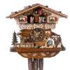 Original handmade Black Forest Cuckoo Clock  / Made in Germany 2-6245t