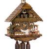 Original handmade Black Forest Cuckoo Clock  / Made in Germany 2-86216t
