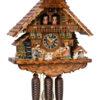 Original handmade Black Forest Cuckoo Clock  / Made in Germany 2-8621t