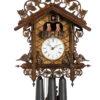Original handmade Black Forest Cuckoo Clock  / Made in Germany 2-86224-5tpa