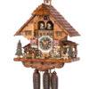 Original handmade Black Forest Cuckoo Clock  / Made in Germany 2-86233t