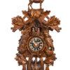 Original handmade Black Forest Cuckoo Clock  / Made in Germany 2-86248-6tnu