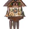 Original handmade Black Forest Cuckoo Clock  / Made in Germany 2-86271t