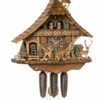 Original handmade Black Forest Cuckoo Clock  / Made in Germany 2-86276t