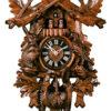 Original handmade Black Forest Cuckoo Clock  / Made in Germany 2-8634-6tnu