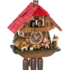 Original handmade Black Forest Cuckoo Clock  / Made in Germany 2-8640t