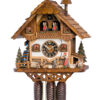 Original handmade Black Forest Cuckoo Clock  / Made in Germany 2-8643t