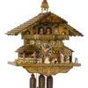 Original handmade Black Forest Cuckoo Clock  / Made in Germany 2-8656t