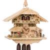 Original handmade Black Forest Cuckoo Clock  / Made in Germany 2-8656tna