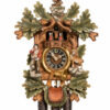 Original handmade Black Forest Cuckoo Clock  / Made in Germany 2-8667-5tbu