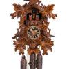 Original handmade Black Forest Cuckoo Clock  / Made in Germany 2-86723-4tnu