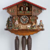 Original handmade Black Forest Cuckoo Clock  / Made in Germany 2-86753t