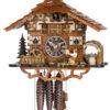 Original handmade Black Forest Cuckoo Clock  / Made in Germany 2-665Mbr