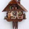 Original handmade Black Forest Cuckoo Clock  / Made in Germany 2-6763t